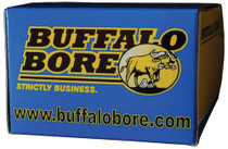Buffalo Bore Ammo 9mm Makarov +P Hard Cast Flat Nose 115gr, 20rd/Box