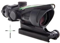 Trijicon ACOG 4x32mm, TA51 Mnt Green Crosshair 36.8ft@100yds FOV Black
