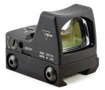 Trijicon RMR Ruggedized Miniature Reflex Sight 4 MOA Red Dot Reticle With RM33 Low Picatinny Rail Mount Matte Black