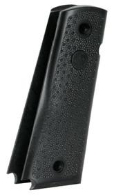Hogue 1911 Government Model Grip Panels, Palm Swells Black Nylon