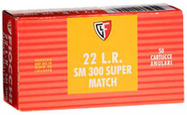Fiocchi Super Match 22 LR 40gr, Lead Round Nose, 50rd/Box