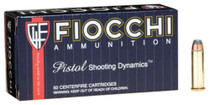 Fiocchi Shooting Dynamics .38 S&W Special 125 Grain Semi Jacketed Soft Point, 50rd/Box