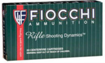 Fiocchi .300 Win Mag, 190 Gr, Sierra MatchKing Hollow Point Boat Tail, 20rd/Box