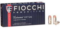 Fiocchi Extrema .40 S&W 180gr, XTP Hollow Point 25rd/Box