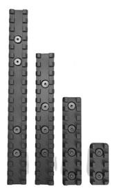"Samson Evolution Keymod Rail Kit 4"" (1 Rail) 6061-T6 Anodized Alum Black"