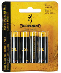 Browning Trail Camera Batteries 8 AA Per Pack