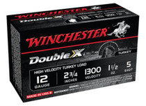 Winchester Double X High Velocity Turkey Loads Copper Plated Buffered 12 Gauge 2.75 Inch 1300 FPS 1.5 Ounce 5 Shot