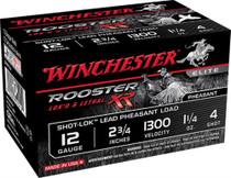 "Winchester Rooster XR Shot-Lok 12 Ga, 3"", 4 shot, 15rd/Box"
