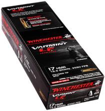 Winchester Varmint Lead-Free .17 Hmr 15.5gr, Ntx Polymer Tip 50rd Box