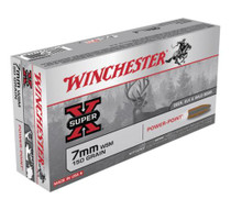 Winchester Ammo Super X 7mm Win Short Mag Power-Point 150gr, 20Box/10Cs
