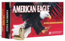 Federal American Eagle 38 Special 158 GR, Lead Round Nose, 50rd/Box
