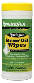 Remington Rem Oil Pop-Up Wipes 7x8 qty 60