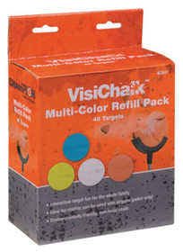 Champion VisiChalk Multi-Color Target Refills 48 Pack