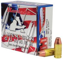 Hornady American Gunner .380 ACP 90gr, XTP, 25rd/Box