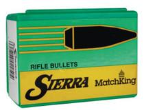 Sierra Bullets Match King .224 Diameter 69 Grain Hollow Point Boattail 500 Per Box