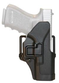Blackhawk! Cqc Carbon Fiber Serpa Active Retention Holster Matte Black Right Hand For Ruger P85/89