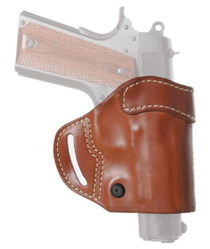 Blackhawk CQC Leather Compact Askins Brown Right Hand For Colt Government and Commander