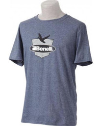 Benelli Duck Badge T-Shirt, Navy, Small