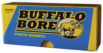 Buffalo Bore Ammo Rifle 30-30 Win Jacketed Flat Nose 190gr, 20rd/Box, 12 Box/Case