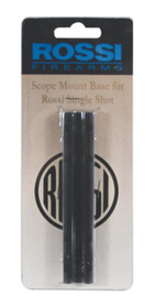 Rossi 1-Piece Base For Rossi Long Guns Weaver Style Matte Black Finish