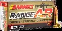 Barnes RangeAR Bullets .300 Blackout 90gr, Open Tip Flat Base (OTFB) 20rd/Box