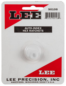 Lee Hex Ratchet 3 Pack Hard Plastic, Auto Index