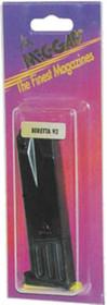 Mec-Gar Magazine Beretta 92 9mm, Blued Finish, 10rd