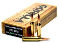 Gorilla Match 260 Remington 123 gr, Sierra MatchKing 20 Bx/
