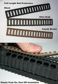 Magpul Extended Length Rail Protector, Olve Drab Green
