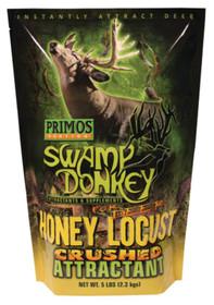 Primos Hunting Calls Swamp Donkey Honey Locust Crushed Attractant For Deer Five Pound Bag