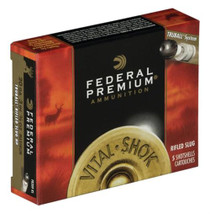 "Federal Vital-Shok 20 Ga, 3"", 1700 FPS, .75oz, TruBall Slug, 5rd/Box"