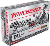 Winchester Deer Season XP 243 chester 95 gr, Extreme Point 20rd/Box