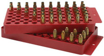 MTM Universal Loading Tray All Handgun/Rifle 50rds Red