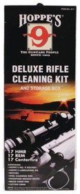 Hoppe's Rifle .17/.204 Caliber Cleaning Kit with Steel Rod