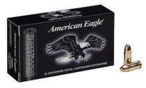 Federal American Eagle Suppressor 9mm 124gr, Full Metal Jacket