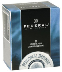 Federal Standard 357 Rem Mag Jacketed Hollow Point 158gr, 20Box