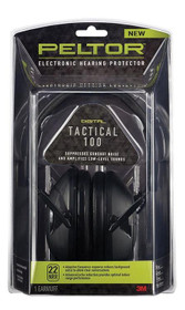 Peltor TAC1000TH Earmuffm, NRR 22 dB, Battery Operated