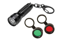 Streamkight Key-Mate/Filter Combo Black Key-Mate with White LED, Red & Green filters with lanyard