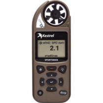 Kestrel Sportsman Weather Meter with Applied Ballistics, Coyote Brown