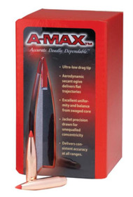 Hornady .308 Cal 168 Grain A-Max 250/Box Bullets Only, not Loaded Ammo