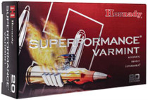 Hornady Superformance .222 Remington 50 Grain V-Max 20rd/Box
