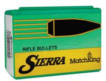"Sierra Bullets Match Bullets .308 Diameter 210 Grain Hollow Point Boattail Requires 1x10"" Twist Barrel 50rd/Box"