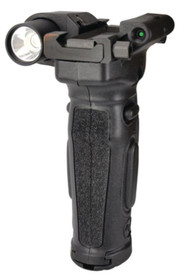 """Crimson Trace Modular Vertical Foregrip Rail Equipped Long Guns, M1913 Picatinny or Similar Accessory Rails Measuring at Least 4"""" in Length"""