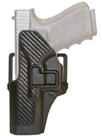 Blackhawk CQC Carbon Fiber Serpa Active Retention Holster Textured Black Left Hand For H&K P-30