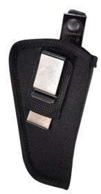 Blackhawk! Ambidextrous Multi-Use Holster With Magazine Pouch Black For 4.5-5 Inch Barrel Large Autos