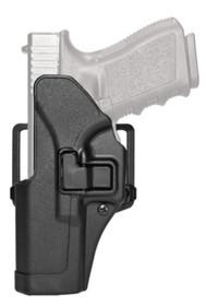 Blackhawk CQC Carbon Fiber Serpa Active Retention Holster Matte Black Left Hand For Walther P99