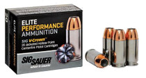 Sig Ammo 357Sig 125Gr Elite V-Crown JHP 20rd/Box