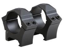 """Sig Alpha Ring Set 1"""" Diameter, High, Steel Black Matte"""