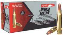 Aguila .223 Remington 55 gr, FMJ, 50rd/Box