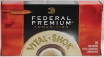 Federal Vital-Shok 300 Win Mag 165 Grain Trophy Copper 20rd/Box